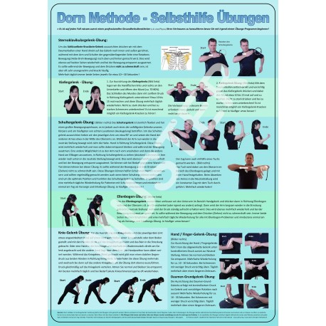 Dorn Poster Selbsthilfe Übungen Weitere